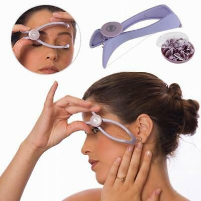 Face Body Hair Threader Removal Threading Facial Epilator Slique Design Tool UK