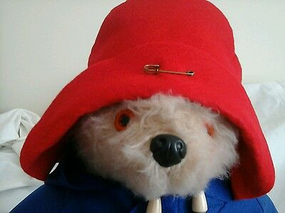 NEW RED Hat For  Your Gabrielle Paddington Bear( See other listings)