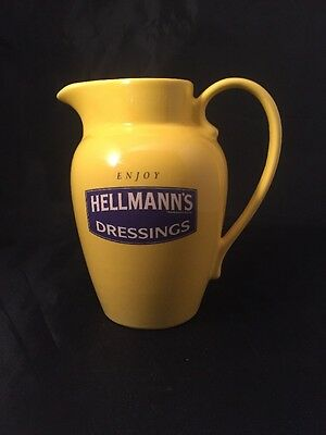 Enjoy HELLMAN'S DRESSINGS WADE Collectable Yellow Jug Vintage Kitchen