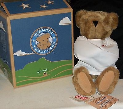 Crazy 4 you Vermont Teddy Bear for Valentines Teddie Xmas Rare Collectible Gift