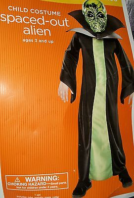 Space Alien boys girls size small 4-6 Halloween Costume trick or treat party