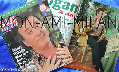 TERRY WOGAN Cover & Large Interview with Photo's - Very Rare UK Magazine 1998