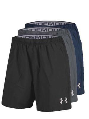Brand New Under Armour Shorts HeatGear Running Gym Black Navy Grey M L XL 2XL