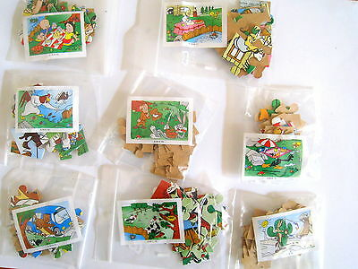 Kinder Looney Tunes - Puzzles Completo K98 /77,78,79,80,81,82,83,84