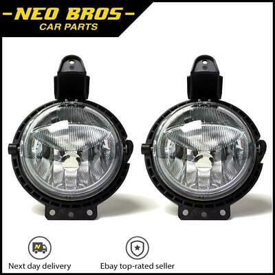 Pair Front Fog Lights With Position Lamps Mini R55 R56 R57 R58 R59, 63172751295