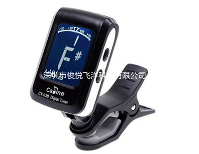 LCD Clip-on Guitar Electronic Digital Tuner for Chromatic Bass Violin Ukulele US