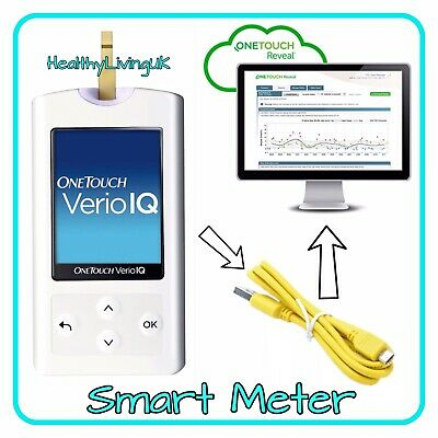 One Touch Verio Blood Glucose Meter/Monitor - Diabetic - Single Unit Meter Only