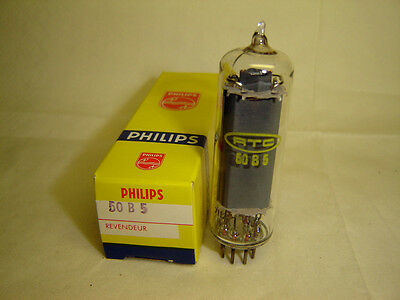 50B5-50B 5-Rtc Philips-Nos-New-Own Box-Some With Clear Top