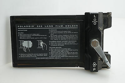 Polaroid 545 Land Film Holder Instant Sheet Film 4x5 Cameras
