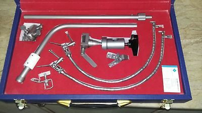 LEYLA Brain Retractor Neurosurgery Flexible arms -COMPLETE SET with carry Box