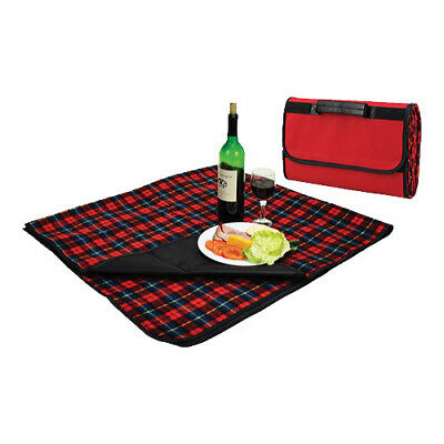 Picnic at Ascot Unisex  Picnic Blanket with Attached Case