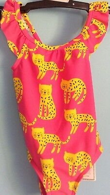 Bnwt M&s Baby Girls  Swimming Suit , Costume Upf 40+ ,age 9-12 Months ,
