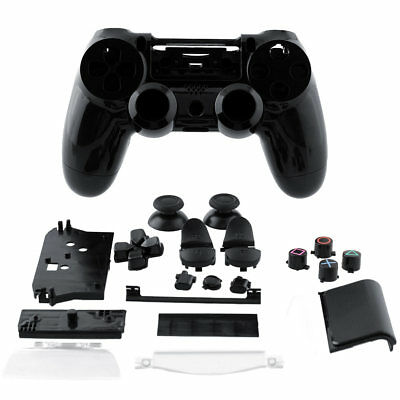 Hot Wireless Controller Shell Case Black Housing +Button For Sony PS4 Joystick