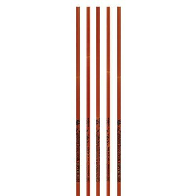 6 X Carbon Shaft PENTHALON Traditional Bamboo