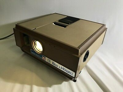 Vintage Bell And Howell Slide Projector Model No 972 In Box Made In Australia
