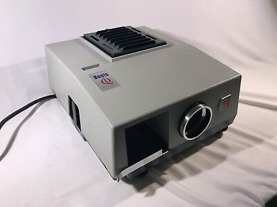 Vintage Boots IQ Semi Automatic Film Slide Projector In Box Australia Rare