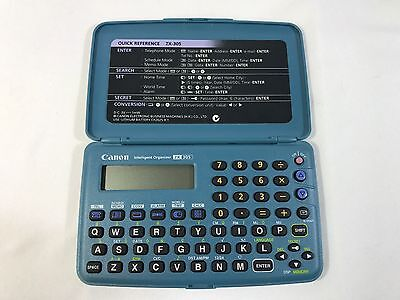 Canon Electronic Business Machine ZX 305 Vintage