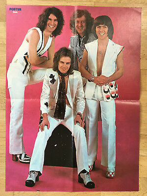 SLADE - FROM SWEDEN SWEDISH POSTER MAGAZINE 1970s #2-1975