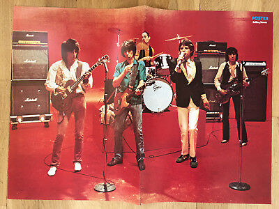 ROLLING STONES - FROM SWEDEN SWEDISH POSTER MAGAZINE 1970s #9-1978