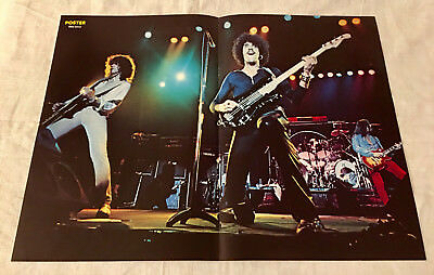 THIN LIZZY - PHIL LYNOTT - FROM SWEDEN SWEDISH POSTER MAGAZINE 1970s #9-1978