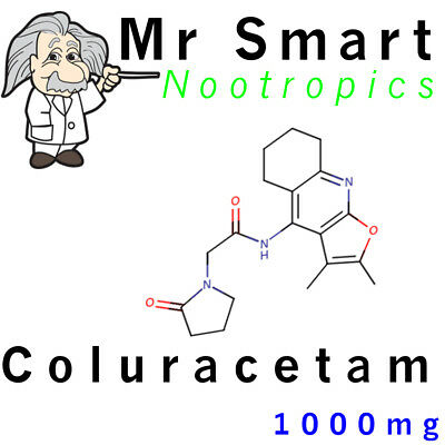 COLURACETAM (1000mg) >99% pure with Certificate of Analysis and free Micro Scoop