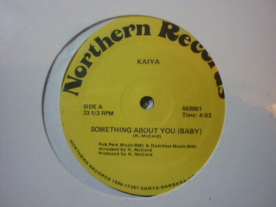 northern soul kaiya somthing about you northern records 12 inch usa