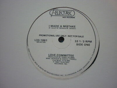 northern soul love committee i made a mistake t electric wdj 12 inch usa