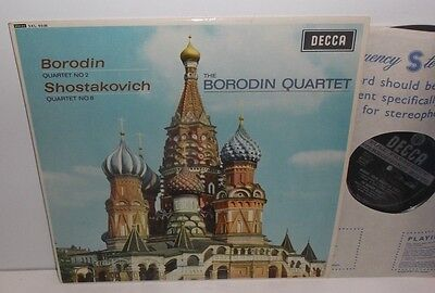 SXL 6036 Borodin & Shostakovich String Quartets The Borodin Quartet ED1 WBG