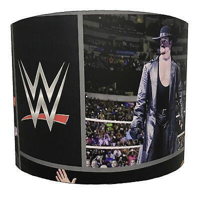 WWE Wrestlemania Lampshades, Ideal To Match WWE Wallpaper & WWE Quilt Covers.