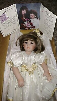 Marie Osmond Toddler Collector Doll Hand numbered limited Edition