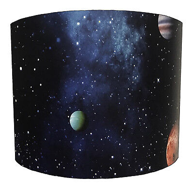 Lampshades Ideal To Match Arthouse Cosmos Space Wallpaper & Cosmos Space Quilts.