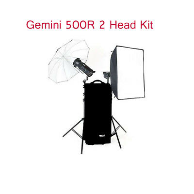 Bowens BW4805TX UKA UM/SB 500R/500R 2-Head Lighting Kit