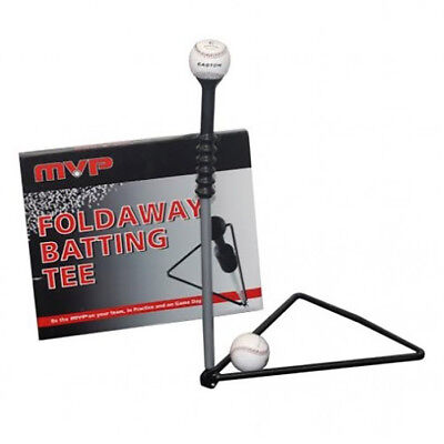 Baseball Softball Training Equipment MVP Foldaway Batting Tee Hitting Trainer