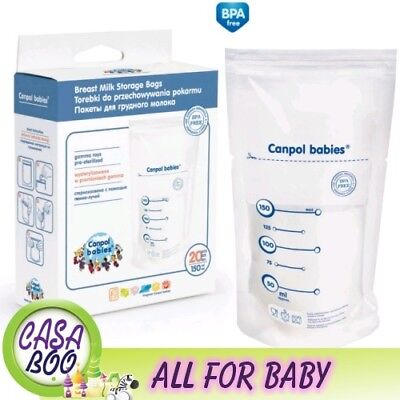 Breast Milk Storage Bags 20 pcs Canpol Babies