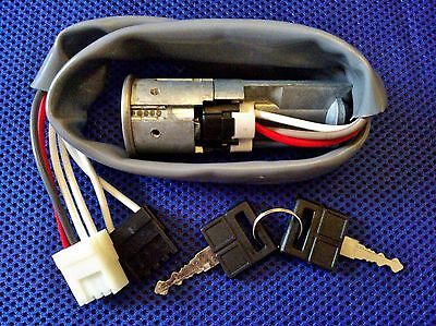 Peugeot 205 83> Ignition Switch Steering Lock Assembly & Keys (Fits Gti)