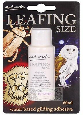 free ship Mont Marte MAXX0024 Leafing Size Water Based Gilding Adhesive