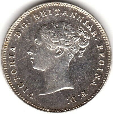 1885 Prooflike Victoria Silver Maundy Fourpence/Groat***Collectors***