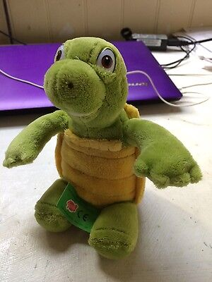 Verne the Turtle from Over the Hedge soft plush toy.