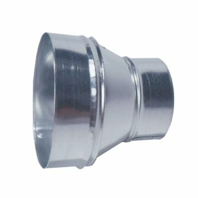Master Flow 7 in. to 4 in. Reducer Increase Decrease Pipe Galvanized Steel