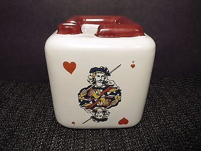 Decanter Napolean Aigle Cognac Pottery Ashtray Rouge Leopold Brugerolle Empty