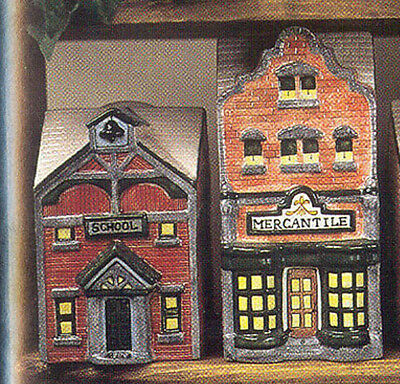 Mercantile Store Dormer Canister - Ceramic Bisque U Paint