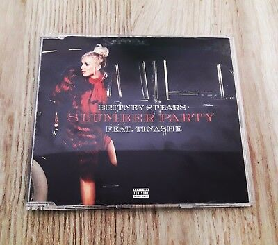 Britney Spears - Slumber Party Feat. Tinashe CD single