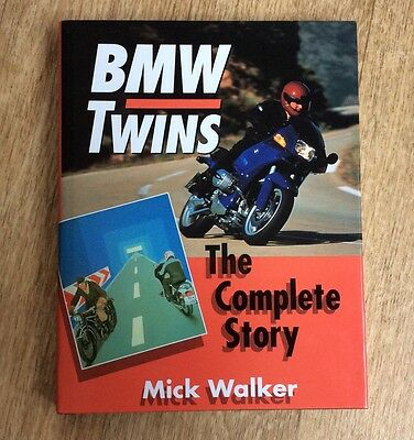 BMW TWINS,THE COMPLETE STORY (motorcycles) BY MICK WALKER