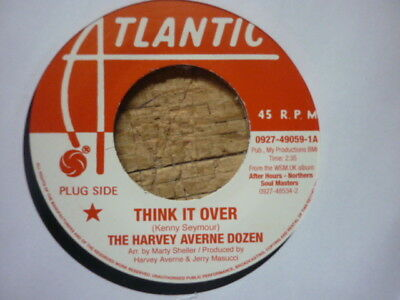 northern soul harvey averne think it over / alice clark you hit me uk reissue