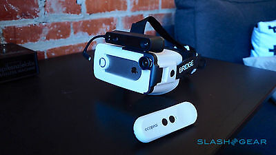 Occipital Bridge AR/VR Headset + Wideangle Lens iPhone7 without Structure Sensor