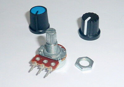 potentiometer with knob