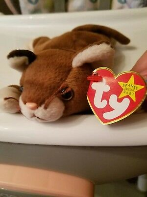 33bb5aafac9 TY BEANIE BABY pounce with errors -  399.00