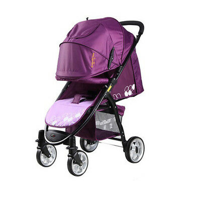 Baby Infant Stroller Pram Pushchair Buggy with Lay Back seat 0M+ FREE Rain Cover