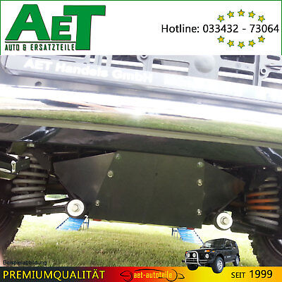 LADA Taiga 4X4 SKID PLATE ENGINE & Gearbox Protection incl. Center Differential