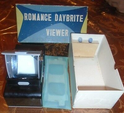 $pring Cleaning $ale ROMANCE DAYBRITE Slide VIEWER w OB & BULBS